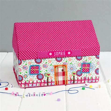 the dolls house company personalised dolls house jewellery box by the little picture company