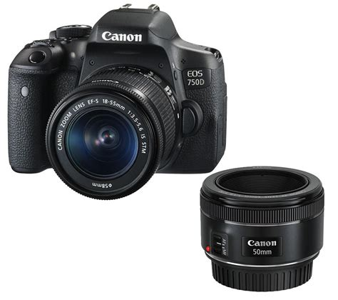 buy canon eos 750d dslr with ef s 18 55 mm f 3 5 5