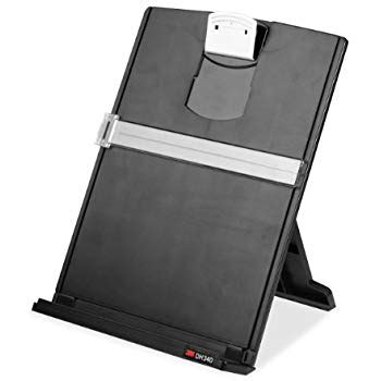 document holder for desk amazon com 4210b desk easel computer document holder