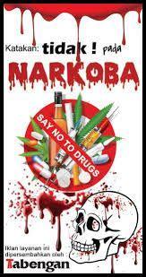 risultati immagini  contoh poster narkoba poster