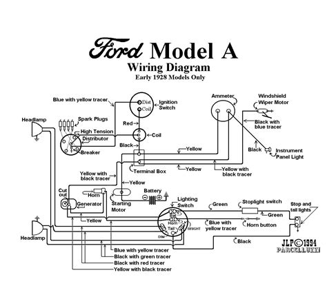 28 model a ignition wire diagram autos post