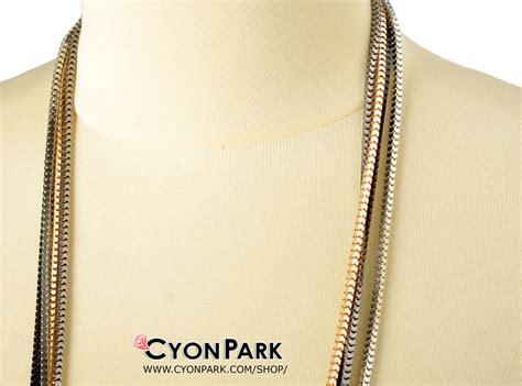 Tas Selempang Rantai Panjang Hitam Silver Gold Wanita Chanel Zara Gosh koleksi kalung panjang butik shop tas pesta belt