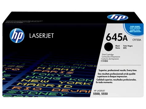 Toner Hp 645a C9733a Magenta Original hp 645a black original laserjet toner cartridge c9730a hp 174 united states