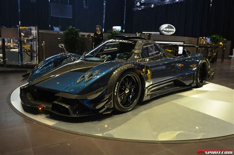 blue pagani zonda photo of the day blue pagani zonda revolucion in japan