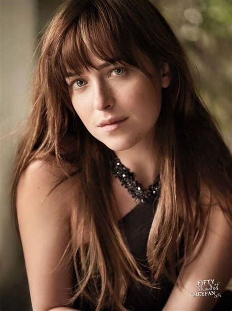 dakota johnson bangs 218 best my fifty shades collection images on pinterest