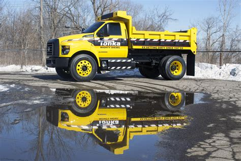 Check out the Mighty Ford F 750 TONKA Truck   The Fast