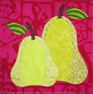 a pair of pears by meg page pieceful kwilter september 2011