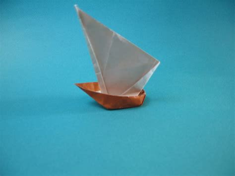 Origami Sail Boat - origami sail boat barco velero by zilterm on deviantart