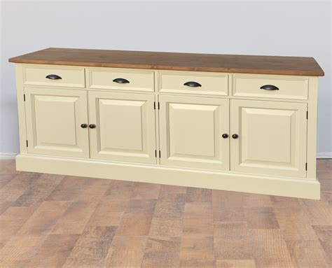 Painted Pine Sideboard mottisfont solid pine painted large dresser sideboard furniture4yourhome