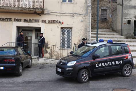 Banche A Siena by I Carabinieri Di Siena Arrestano Rapinatore Seriale Di