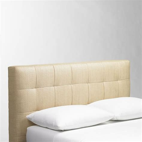 west elm tufted headboard grid tufted headboard west elm