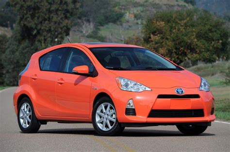 Toyota Leaf Toyota Prius C Outsells Monthly Totals Of Chevy Volt