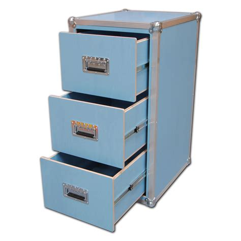 Blue Filing Cabinet by Serious Blue 3 Drawer Filing Cabinet