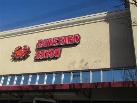 backyard bayou union city backyard bayou union city menu prices restaurant
