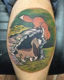 fox and the hound tattoo fox and the hound