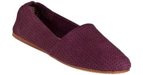 Azcost Slip On Suede 02 steve madden sweet slip on burgundy suede in purple lyst