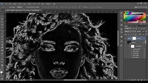 photoshop cs6 xray tutorial effetto lavagna photoshop ah17 187 regardsdefemmes