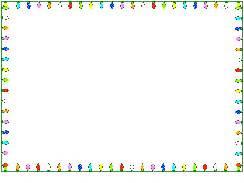 blinking christmas light border html animated borders