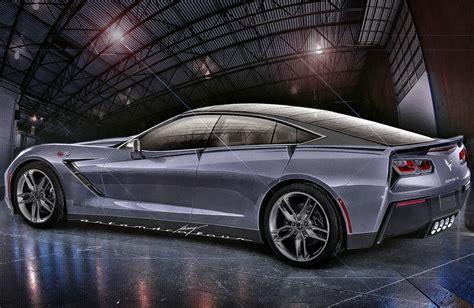 meet the american four door coupe chevy corvette c7