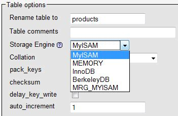 Mysql Change Table Engine How To Change The Storage Engine A Mysql Table Uses Electric Toolbox