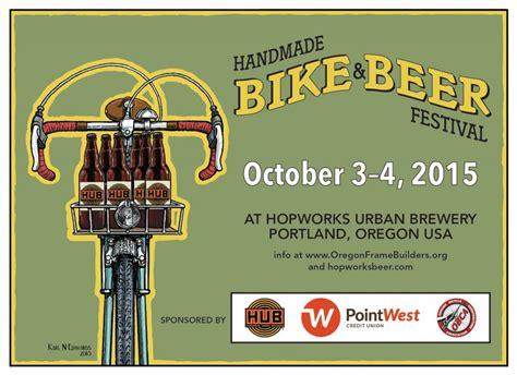 Handcrafted Bikes - hopworks brewery handmade bike festival