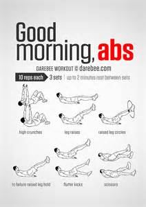 Ab Exercises In Bed Best 25 Good Mornings Exercise Ideas On Pinterest