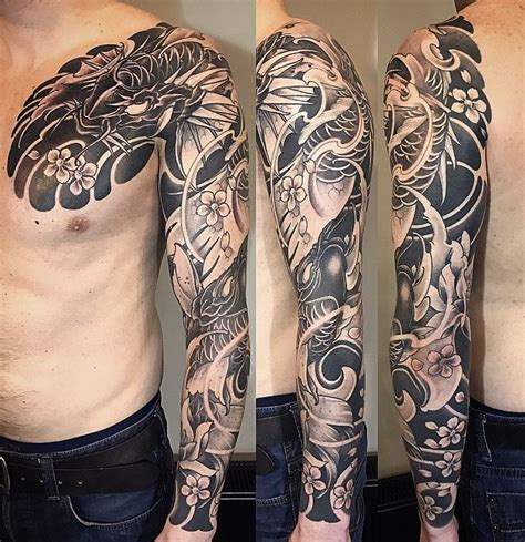 full custom tattoo amsterdam 1825 kimihito japanese style custom