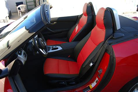 bmw custom seats bmw z4 2009 2015 leather like custom seat cover 13 colors