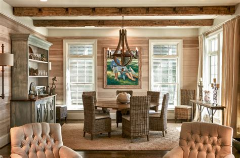 coastal living dining room coastal living space style dining room raleigh by dempsey hodges construction