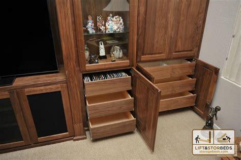 Alderwood Kitchen Cabinets by Arizona Custom Entertainment Centers Lift Amp Stor Beds
