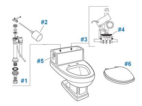 heritage toilet onderdelen american standard toilet repair parts for heritage series