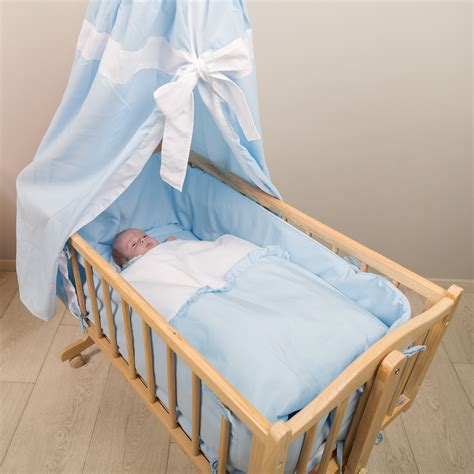 Rocking Co Sleeper by Baby Swinging Crib Rocking Cradle Cot Bassinet Bed Wood