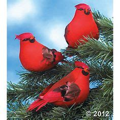 feathered red cardinal xmas ornament ornaments on birdhouses cardinal birds and ornament