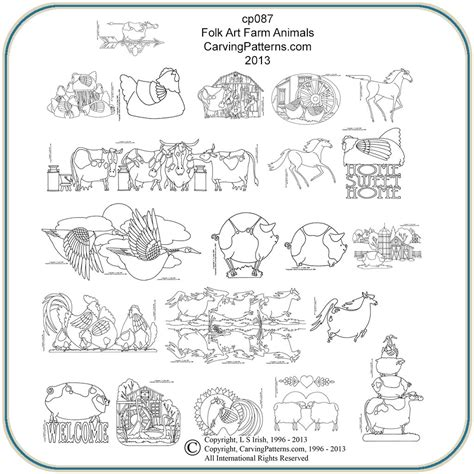 wood animal pattern plans to build wood carving patterns animals pdf plans