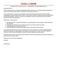 Best Bookkeeper Cover Letter Examples Livecareer