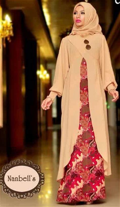 tren busana muslim terkini tren baju muslim batik modern