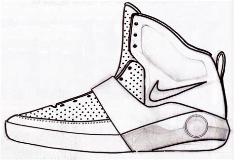 drawings of basketball shoes sneaker sketch of the week smith s nike air yeezy