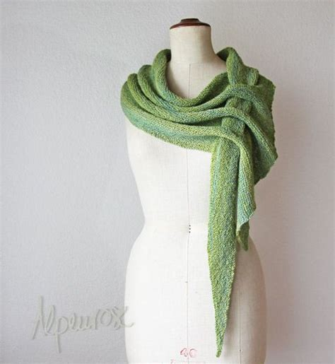 knitting pattern scarf with slot schals kostenlose muster and pfeile on pinterest