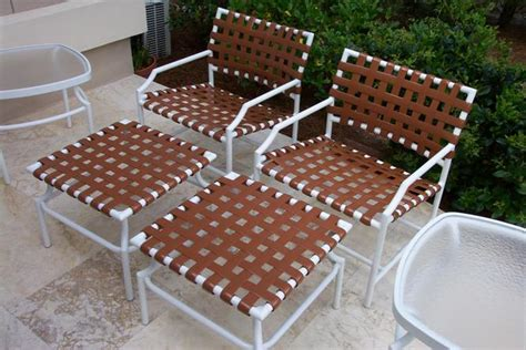 Vinyl Straps For Patio Furniture Patio Furniture Vinyl Replacement Modern Patio Outdoor