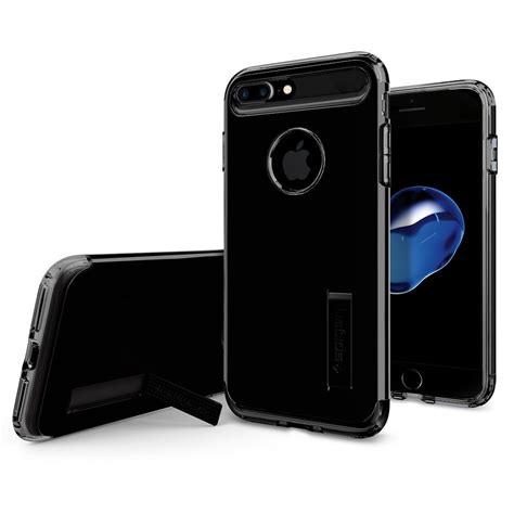 Spigen Slim Armor Apple Iphone 7 Plus 55 Gold spigen slim armor skal till apple iphone 7 plus jet black themobilestore