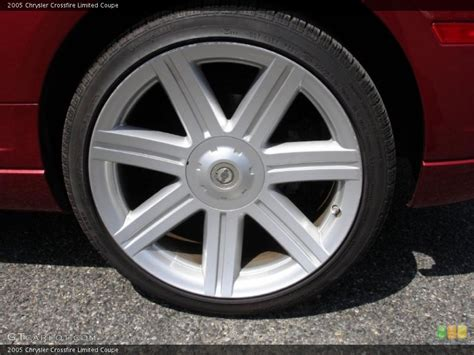 Chrysler Crossfire Tires by 2005 Chrysler Crossfire Limited Coupe Wheel And Tire Photo