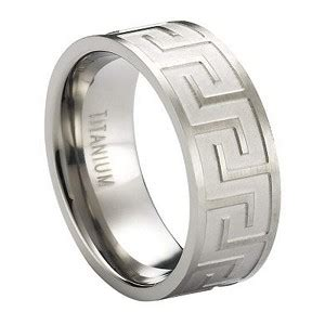 Wedding Rings Key Design by Titanium Wedding Ring For Alternative Key