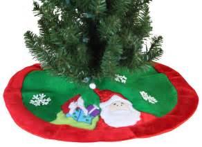 tree skirts 20 quot mini christmas tree skirt with santa