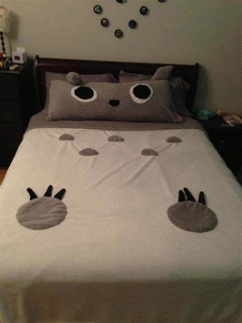 totoro bedroom totoro bed 183 how to make a bed 183 sewing on cut out keep