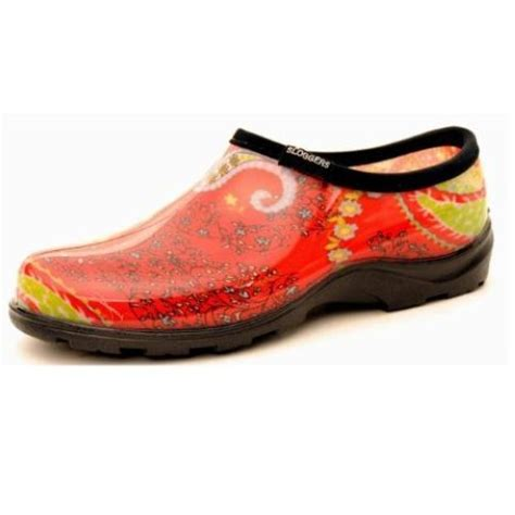 Garden Shoes by Sloggers Printed Garden Shoes Womens Paisley Sizes 6