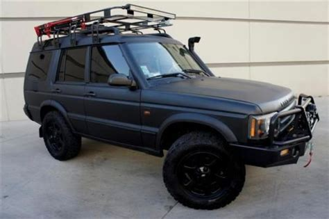 custom land rover discovery find used custom safari land rover discovery snorkel winch