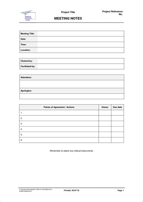 sample board meeting minutes template
