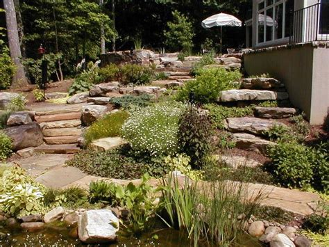 backyard hill landscaping ideas landscaping ideas for small hills landscaping on a hill3