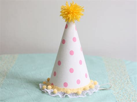 How To Make Birthday Cap With Paper - diy hats