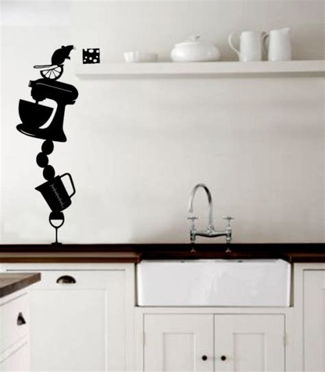 wall sticker for kitchen kitchen wall stickers decoration idea modern wall
